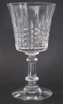 Cut glass water goblet Fostoria revere - $13.10