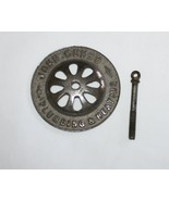 Vintage John Cuneo Plumbing & Heating Claw Foot Drain Cover  Original Screw - $17.00