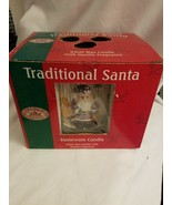 Renwick Candles Traditional Santa Stoneware Candle Vanilla Scent - $5.89