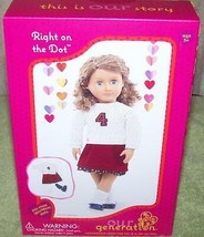 Our Generation Right On The Dot Doll Outfit New - $20.67