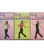 Leslie Sansone Walk Away the Pounds ~ Lot of 3 VHS Tape NIP - $26.81