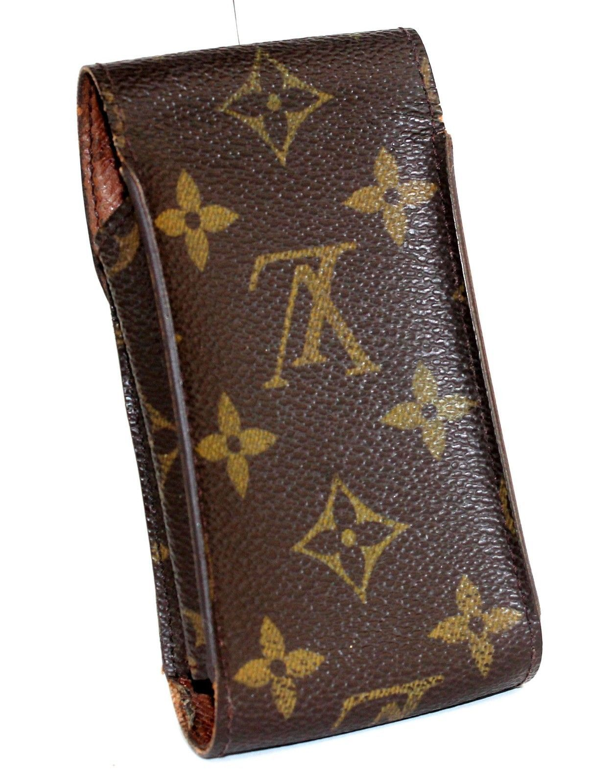 eff5fe5c189 Auth Louis Vuitton monogram Canvas Leather and 24 similar items