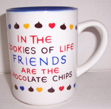 """1995 In The Cookies Of Life """"Friends are The Chocolate Chips""""... Ceramic... - $14.99"""