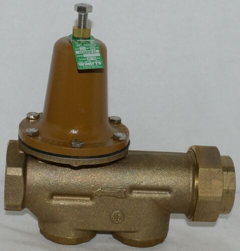 Watts Water Pressure Reducing Valve 1 1/2 Inch Lead Free 0009431