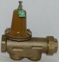 Watts Water Pressure Reducing Valve 1 1/2 Inch Lead Free 0009431 image 1