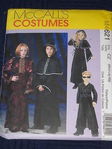 Childrens Gothic Goth Costumes size M-Xlg McCal... - $7.91