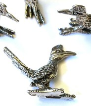 ROADRUNNER FIGURINE CAST WITH FINE PEWTER - Approx. 1 inch tall  (T154) image 2