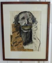 Listed Artist American Artist Kim Goldfarb Original Signed Mixed Media P... - $4,500.00