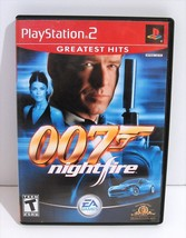 007: NightFire (Sony PlayStation 2, 2002) PS2 Complete! - $7.95