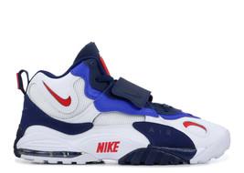 Air Max Speed Turf Men Shoe BV1165-100 White/Red/Blue/Dark-Blue Sneakers Sz 10.5 - $158.39