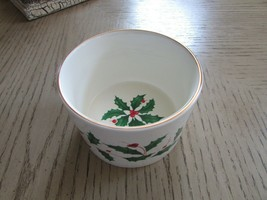 LENOX CHINA AMERICAN BY DESIGN WINE BOTTLE COASTER HOLDER HOLIDAY PATTERN  - $12.82