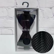 Van Heusen Adjustable Bowtie Solid Black Polyester Cocktail Formal NEW I... - $14.01
