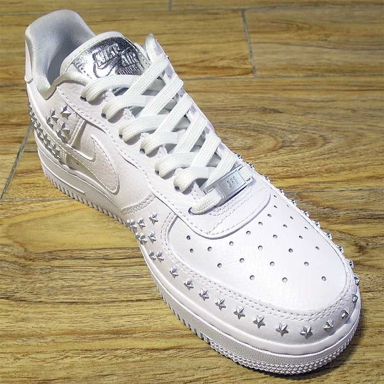 detailed look 5e072 5e500 Nike Wmns Air Force 1  07 XX  Star Pack  White AR0639-100