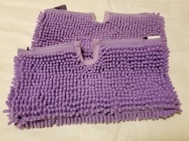 Lot 2 Purple Shark Steam Mop Microfiber Cleaning Dusting Pad Cover 6 x 13 - $13.85