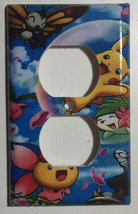 Pokemon Happy Pikachu & Friends Light Switch Outlet Wall Cover Plate Home Decor image 2