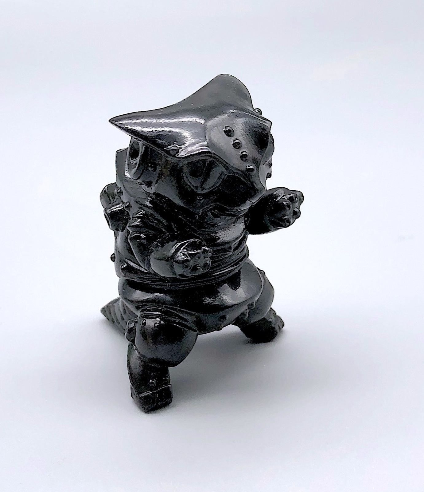 "Max Toy ""Smoke"" Clear Black Mini Mecha Nekoron"