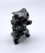 "Max Toy ""Smoke"" Clear Black Mini Mecha Nekoron image 1"