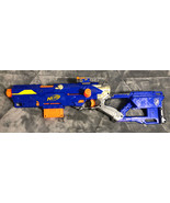Nerf N-Strike Long Strike Longstrike CS-6 Sniper Rifle Blaster Gun w/Clip - $34.64