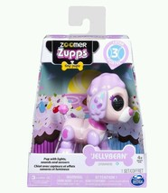 Zoomer Zupps Tiny Pups Jellybean Spotlight 3 Gift Interactive Puppy Pood... - $28.01