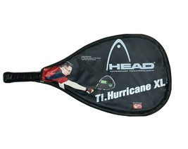 Head Titanium Ti Hurricane XL Titanium Technology Racquetball Racquet With Case - $19.80
