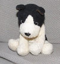 RUSS LUV PETS STUFFED PLUSH SMALL MINI CREAM AND BLACK BEAN BAG  DOG SUE... - $49.49