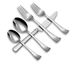 Cafe Blanc by Dansk Stainless Place Setting 5 Pieces New - Discontinued - $29.65