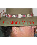 Custom Made Suede Braided Hatbands & Hatbands with Porcupine Quills, Gla... - $0.20
