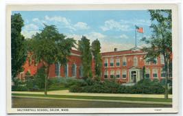 Saltonstall School Salem Massachusetts 1920s postcard - $5.94