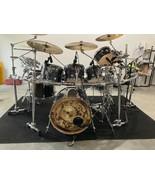 DW PERFORMANCE SERIES DRUM SET- Black Diamond-Hardware,Cymbals,Mics,Yama... - $9,975.00