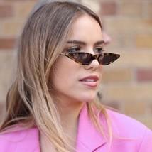 Triangle Sunglasses Women Small Classic Ladies Eyeglasses Cateye UV400 Glasses - $9.97