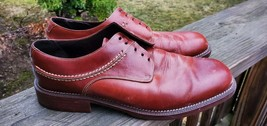 Cole Haan Country Brown Leather Derby Shoes C00165 Men's US 11D - $35.15