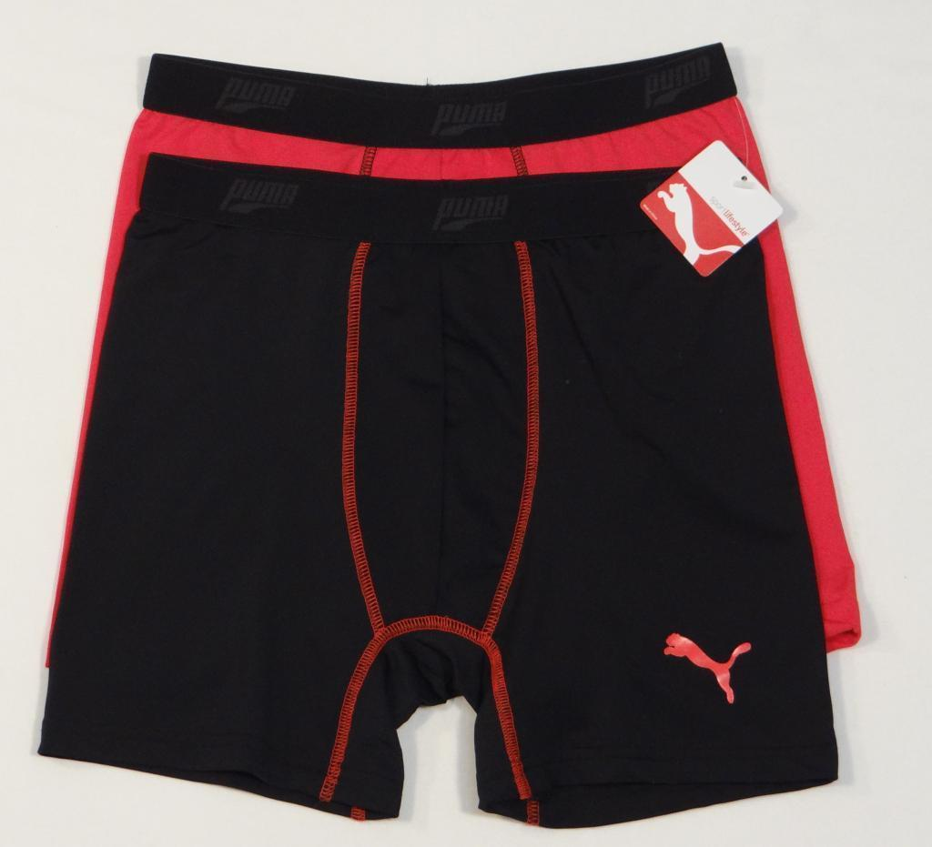 Puma Boy/'s Boxer Brief 4 Pack XS//S//M//L//XL