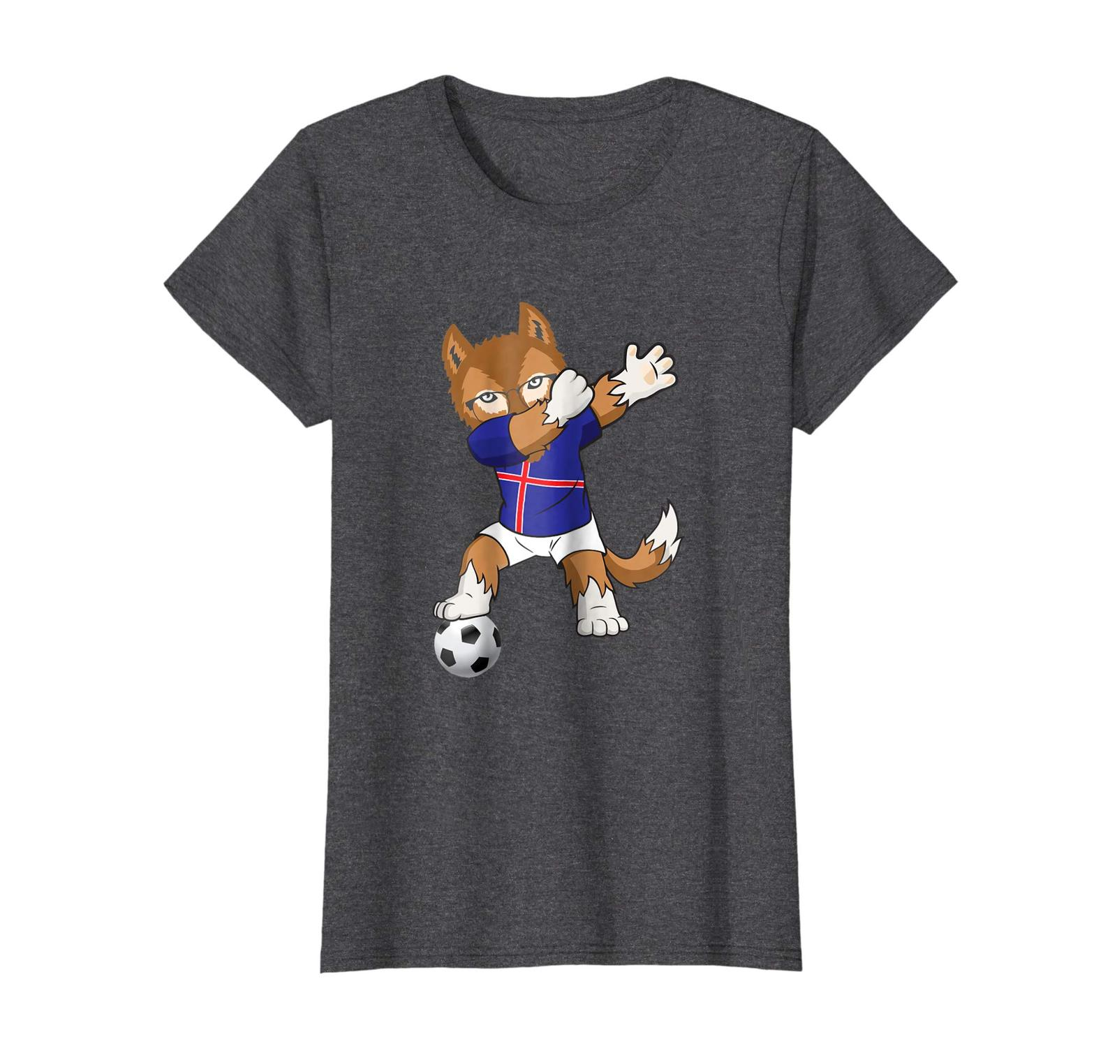 Brother Shirts - Iceland Soccer Jersey 2018 World Football Cup T-Shirt Flag Wowe
