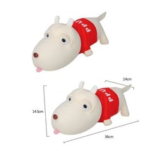 Set of 2 Lovely Dog Bamboo Charcoal Doll - Air Purifying BagRed(NO.01)