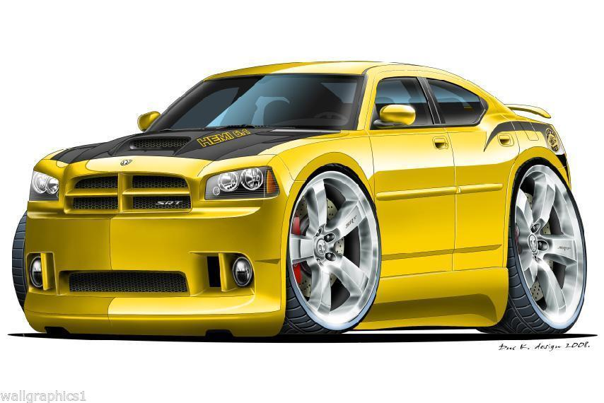 2006-8 Charger Daytona Superbee Wall Graphic and 50 similar items
