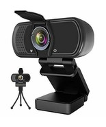 Webcam with Microphone, Hrayzan 1080P HD Webcam with Privacy Cover and T... - $69.29