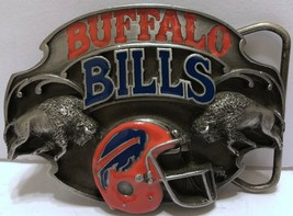 VTG Buffalo Bills Belt Buckle 1987 NFL Football Siskiyou Limited Edition... - $42.07