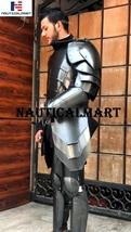 NauticalMart Dark Warrior Half Suit Of Armour Medieval Fantasy - Larp Armor - $699.00