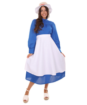 Adult Women's Costume for Cosplay Howl's Moving Castle Sophie Dress HC-354 - £28.82 GBP