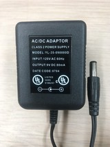 AC Power Supply Adapter Charger YL-35-090080D Output: 9V DC 80mA             Q4