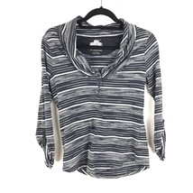 Anthropologie Pilcro & The Letterpress Size S 3/4 Sleeve Knit Top Stripe... - $18.69