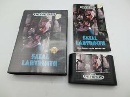 Fatal Labyrinth (Sega Genesis, 1991)   Complete in Box - CIB - $32.99