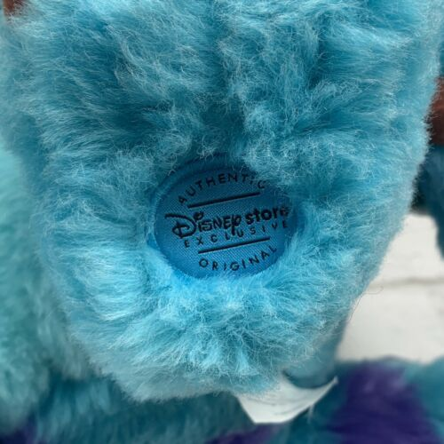 "Monsters Inc. 12"" Sully Plush w/ Varsity Jacket Disney Store Genuine Original image 5"