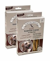 Tartar Shield Soft Rawhide Chews Large Dogs 8 Count - Clinically Proven ... - $40.90