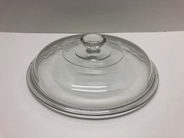 """Slow Cooker Glass Lid Round Knob 407 Inner Rim 7 3/8"""" Outer Rim  8 2/8"""" - $19.75"""