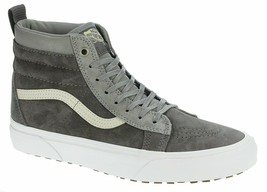 Vans Sk8 Hi MTE Rabbit Frost Gray Suede Outdoor Skate Shoes Womens Size 8.5 - $79.95