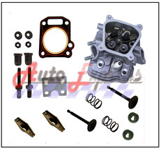 Honda GX200 6.5HP CYLINDER HEAD VALVES & SPRINGS GUIDE PLATE FREE HEAD G... - $29.65
