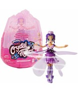 Hatchimals Pixies, Crystal Flyers Purple Magical Flying Pixie Toy - $47.95