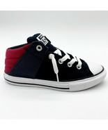 Converse CTAS Axel Mid Alley Black Red White Kids Sneakers 665356F - $47.95