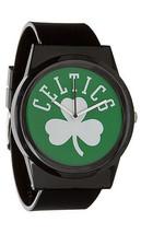 Flud NBA Boston Celtics Black Green Pantone Analog Watch New in Box